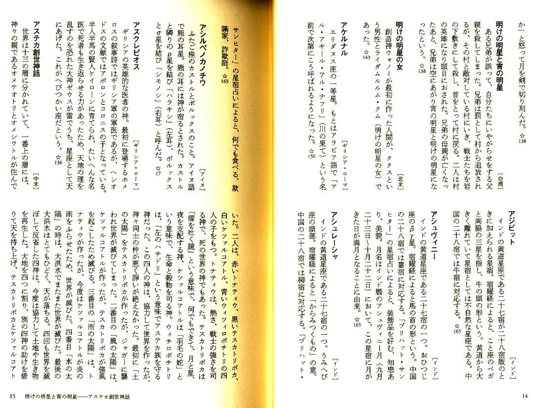 「星の文化史辞典」天文学(てんぶんがく)への招待 出雲晶子著 白水社 「星の文化史辞典」天文学(