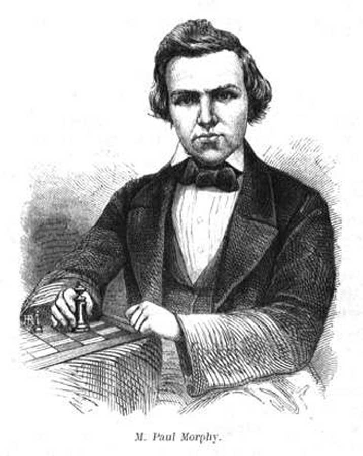 チェス棋士、ポール・モーフィー...