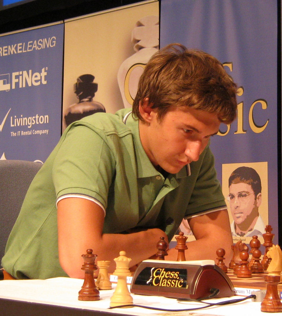 チェスの未来を託された若き獅子たち セルゲイ・カヤキン(Sergey ...