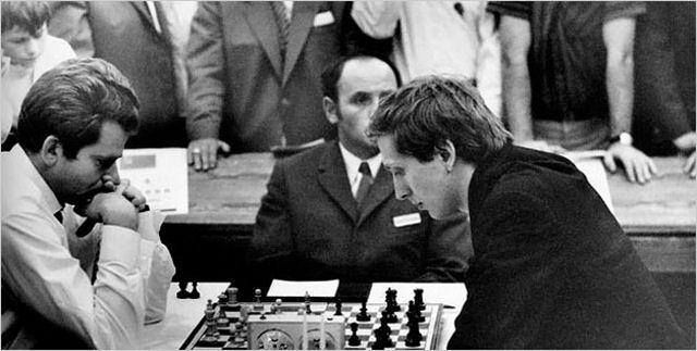 チェス棋士 ボリス・スパスキー...