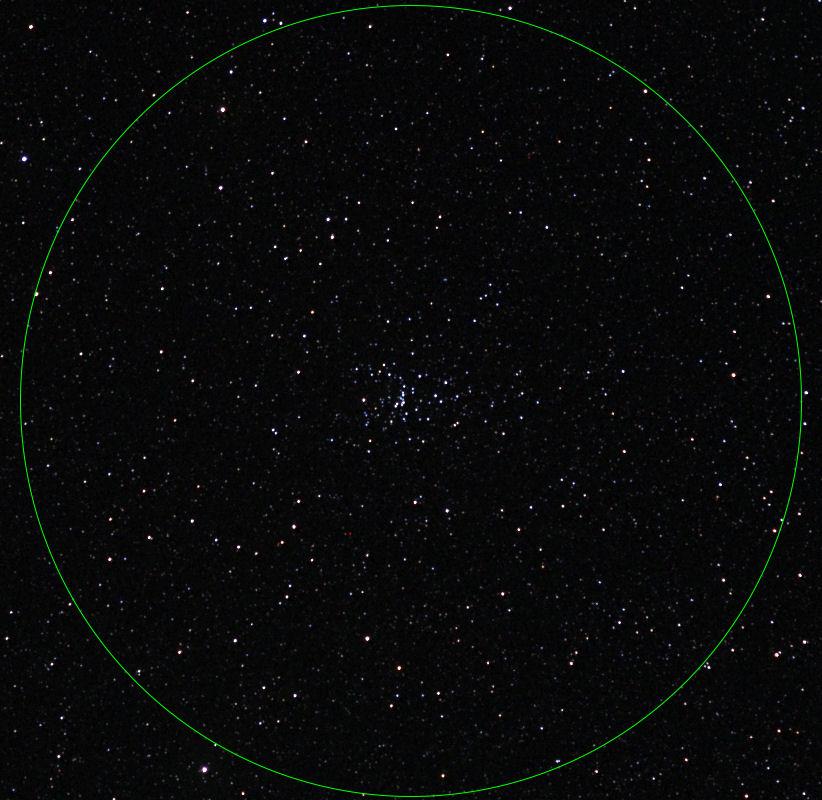 双眼鏡で見る春の星空・M48(散...