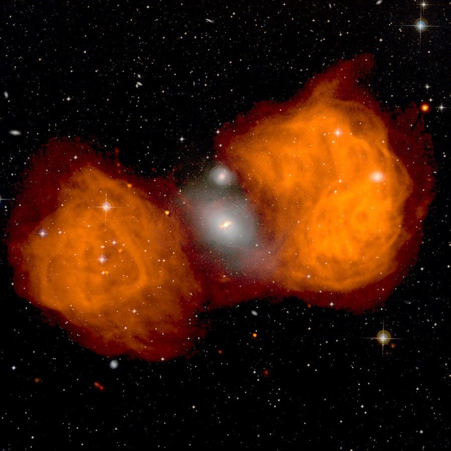 天空の果実「銀河の接近と衝突」